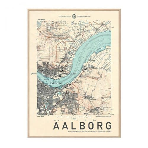 Aalborg Beige Hang It Up Plakat Creative Dot