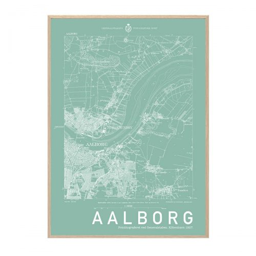 Aalborg Mint Hang It Up Plakat Creative Dot