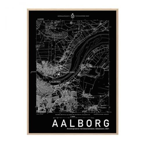 Aalborg Sort Hang It Up Plakat Creative Dot