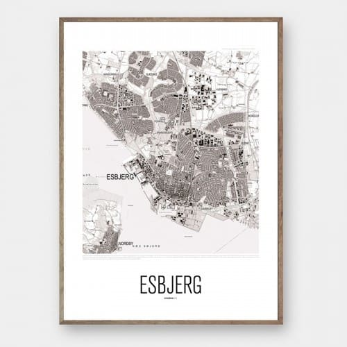 By plakat ESBJERG Creative Dot