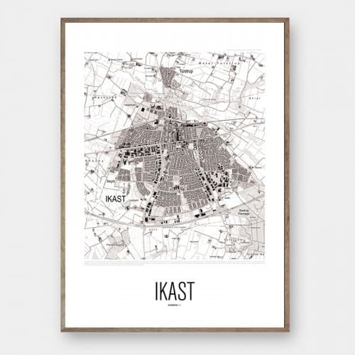 By plakat IKAST Creative Dot