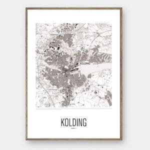 By plakat KOLDING Creative Dot