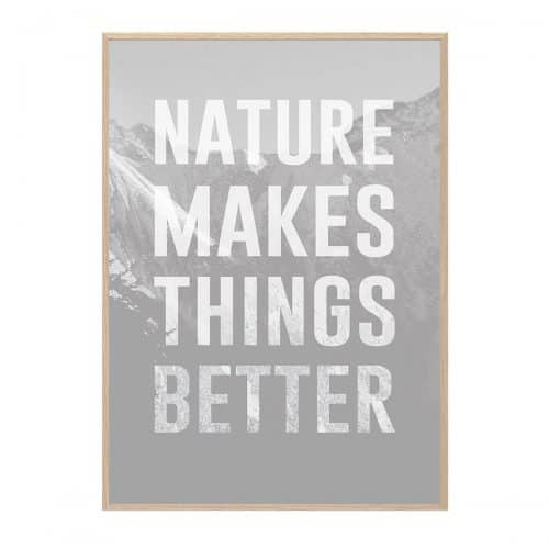 Nature Makes Hang It Up Plakat Creative Dot