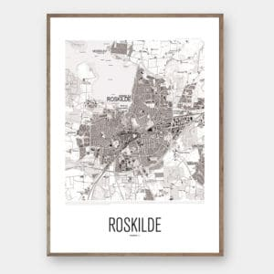 By plakat ROSKILDE Creative Dot