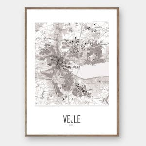 By plakat VEJLE Creative Dot