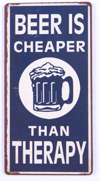 Beer is cheaper than therapy magnet