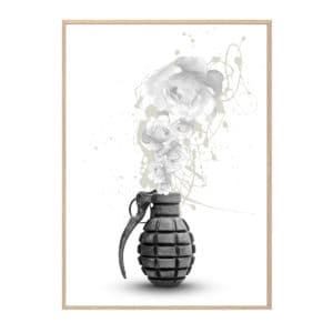 GRENADE plakat Hang It Up Plakat Creative Dot